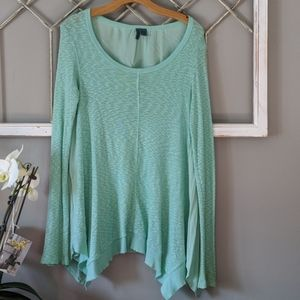 Anthropologie Left of Center oversized thermal top